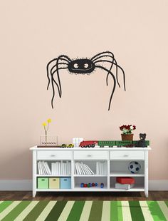 Wall Decals Funny Spider On Web Home Vinyl Decal Sticker Kids Nursery Baby Room Decor    Dear Buyers, Welcome to our shop Decal House!      ★ SIZE AND