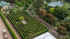 Traditional Hedge Maze