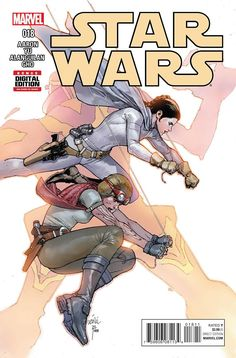MARVEL COMICS (W) Jason Aaron (A/CA) Leinil Francis Yu • With the Rebel base completely overtaken, our only hope is... • ...Leia...Sana...and APHRA?!? • Can they save the Imperial prisoners? Do they w