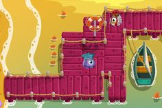 World Of Popus - Mobile Game iOS by Noe Rivera, via Behance