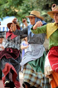 Traditional Folk Dance Ferreries, Menorca, Islas Baleares, Spain