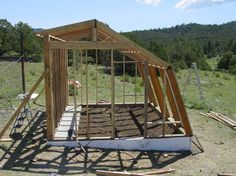 Cord's 13' X 16' greenhouse is an excellent example of a very efficient design in Passive Solar building.  It is compact and it can produce an amazing amount of food; it has withstood incredibly low temperatures and has performed far better than the science it comes from says it can.  Part of it is so many days of intense sun in the mountains and the west, the other is improvement on the design and using the optimum amount of water.  T