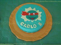 Tarta de Fondant de las Tortugas Ninja - Ninja Turtles Cake!