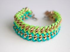 Be Stylish and Beautiful: DIY Bracelets - part 3: Chain Bracelets