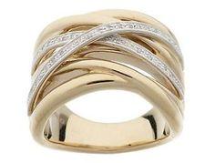 14k Highway Ring with diamonds - Online Fundraising Auction - BiddingForGood