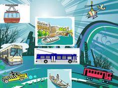 La classe de français: Les moyens de transport. Présentation multimédia pour les débutants et diverses activités | PASSION FLE | Scoop.it