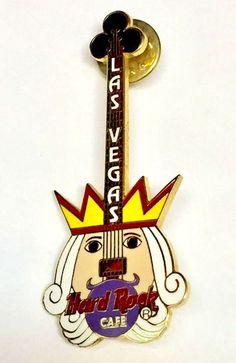 Hard Rock Cafe Penang Keychain Flaming Guitar