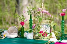 Green and Pink Wedding Ideas  | Green Wedding Theme | Green Wedding Ideas | Wedding Colors | Wedding Ideas at www.EventDazzle.com