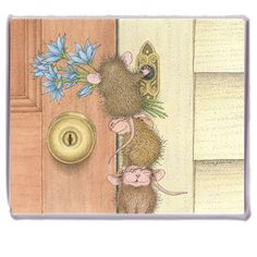 """Refrigerator Magnet"", Stock #: M-2017-2, from House-Mouse Designs®. This item was recently purchased off from our web site. Click on the image to see more information."