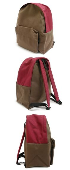 Comme Des Garcons Homme Plus Burgundy/Brown Backpack Size One Size $180 - Grailed