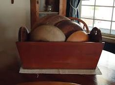 antique wooden bowls