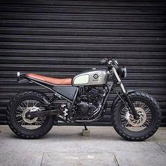 The Original Shepdaddy — A Yamaha YS250 built by @benditamacchina for...