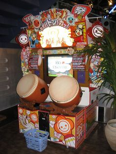 Namco's latest Taiko drum game: I LOVE this game!