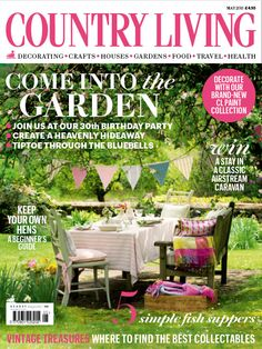 Country Living magazine May 2015 cover countryliving.co.uk