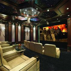 #TBT: Star Ceiling Lights Up Home Theater - Lisa Montgomery, CE Pro