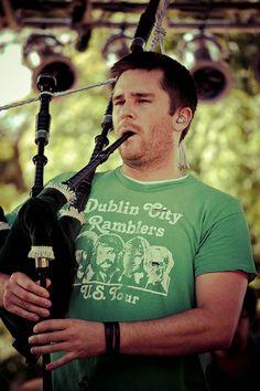 Gaelic Storm's Peter Purvis
