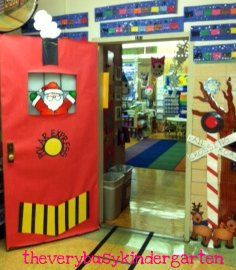 The Very Busy Kindergarten Polar Express & Polar Express Door. Because I loved being read that story and ... pezcame.com