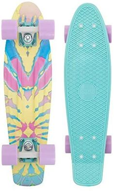 Penny Board Girl, Pastel Penny Board, Penny Board Tumblr, Penny Boards, Skate Longboard, Longboard Design, Skateboard Design, Longboard Cruiser, Board Skateboard