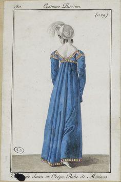 1811. Tulip short sleeves.