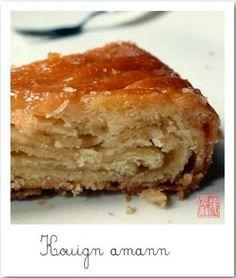 L'image du gâteau : Kouign aman