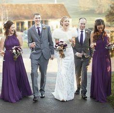 Classy and elegant...... simple by #dessygroup style 8151 in African violet #bridalparty #bridal #bride #bridesmaids #bridesmaidsdresses #patsbridals #bridesmaiddress #wedding #miamiwedding #miamibride