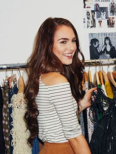 Meet Canadian YouTube Star Jackie Wyers! - What do you get when Canadian beauty YouTuber Jackie Wyers visits FLARE's fashion closet? A party-ready French boho makeover you have to click to believe - FLARE