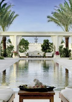 had an amazing honeymoon at the regent palms in turks and caicos - i remember this view from their spa