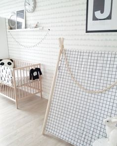 Black and white kids room by LauwDesign
