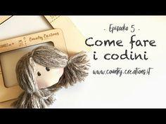 (3) Come pettinare le bambole - Codini - YouTube