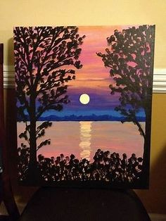 Image result for Canvas Painting Ideas for Beginners