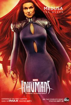 Inhumans Poster Marvel New 2017 Black Bolt Medusa TV Hit FREE P+P CHOOSE UR SIZE