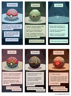 Hmm. Not like I'd actually like some of these. Omg, Team Plasma would go crazy for the Thief Ball :P