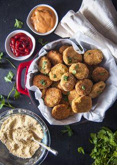 Vegan Chickpea Nuggets – Nina's Vegan Recipes