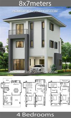 Modern House Floor Plans, Duplex House Plans, House Layout Plans, Bungalow House Plans, Contemporary House Plans, Craftsman House Plans, New House Plans, Dream House Plans, Small House Plans