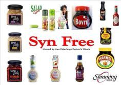 Syn Free Sauces Dressings astuce recette minceur girl world world recipes world snacks Slimming World Syns List, Slimming World Syn Values, Slimming World Treats, Slimming World Recipes Syn Free, Slimming World Plan, Syn Free Food, Syn Free Snacks, Slimming Word, Slimming Eats