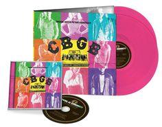 CBGB-Soundtrack on pink Vinyl #cbgb