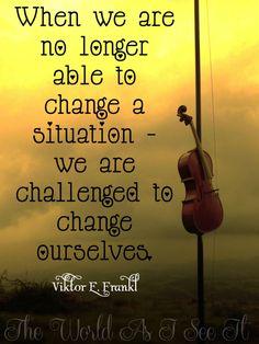 Viktor E. Frankl - Changing Ourselves