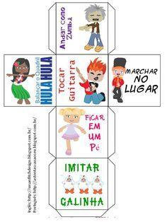 Meninas,  Encontrei no blog Susan Fitch Illustration e Design esse arquivo em inglês, então fiz a versão em português, é só montar o dado...