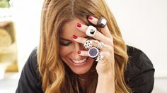 Kelly Killoren Bensimon's Cotail Party #rings #jewelry