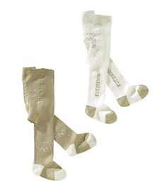 Produkttyp , Strumpfhosen, |Qualitätshinweise , Hautfreundlich Schadstoffgeprüft, |Materialzusammensetzung , Obermaterial: 75% Baumwolle, 20% Polyamid, 5% Elasthan, |Material , Strick, |Farbe , Natur-Braun, |Optik , Gemustert, |Strickart , Feinstrick, |Applikationen , Label, |Schnittdetails , elastischer Bund, | ...