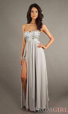 Love this silver dress.