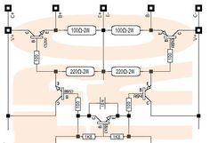 yamaKATRO driver Amplifier 32VAC Bass OK - eleKATRO Hifi Amplifier, Bluetooth Speakers, Yamaha, Bass, Layout, Audio Amplifier, Electronic Schematics, Flat, Page Layout