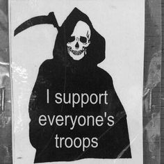 Nationalism's # 1 fan #Death #war #supportthetroops #3teeth #OperationMindfuck