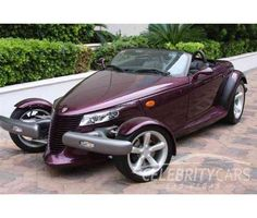 My cruisin car... and it's got to be the original purple!