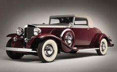 1931 Marmon Sixteen convertible coupe.