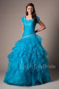 Modest Prom Dresses : Maci
