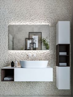 There isn't a home design that passes through here that doesn't have an amazing bathroom idea that is completed with a beautiful modern vanity unit. From ul #modernarchitecturebathroom