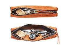 Leather Pen Case Made In Japan