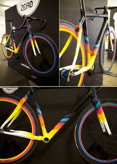 Festka custom-built road frames.