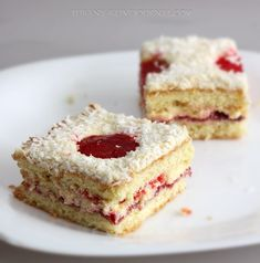 Пирожные с желе